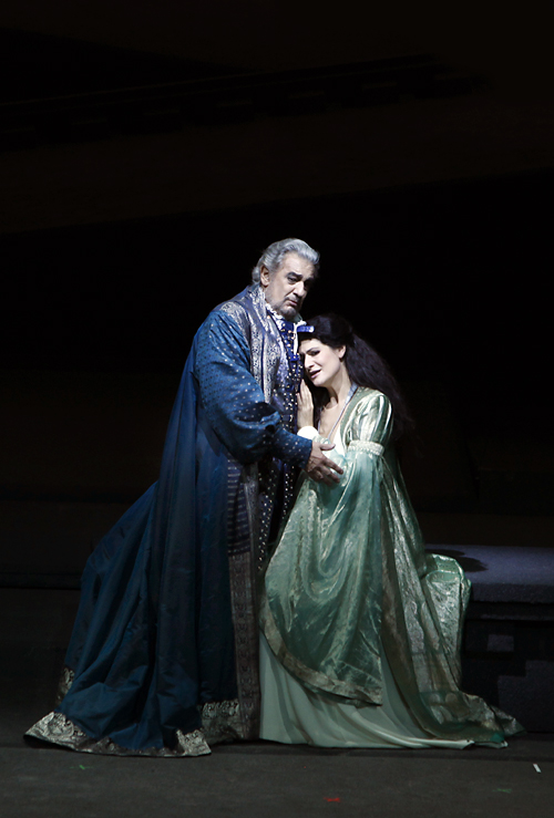 Placido Domingo in Simon Boccanegra © Karen Stuke